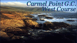 Carmel Point - West Course